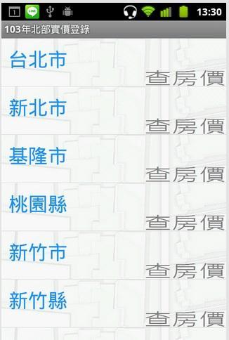 103年台灣北部實價登錄隨身包