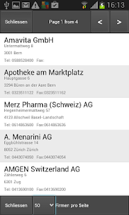 Swiss Company Directory- screenshot thumbnail