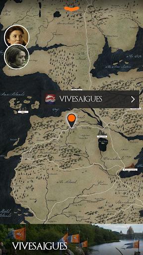 Приложение Game of Thrones S4 Officiel для планшетов на Android