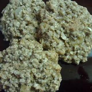 Oatmeal Cookies.