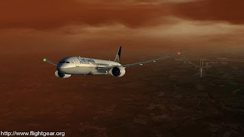 Screenshot of Flightgear and Fsx Videos