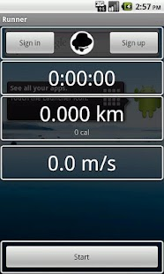 Runner (Jogging tracker) - screenshot thumbnail