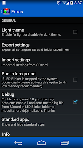 LED Blinker Notifications Pro APK 8