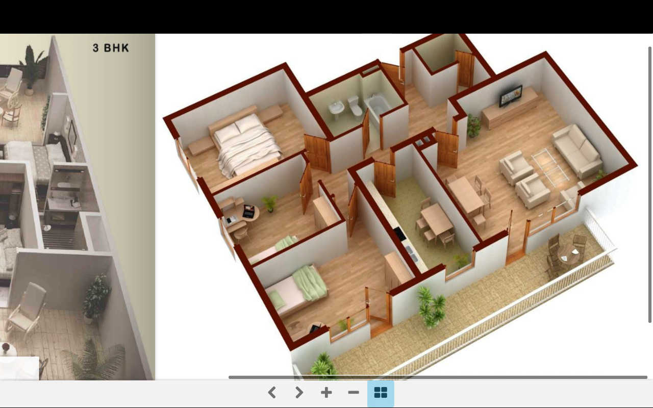 3d home plans android apps on google play for Home plans 3d designs
