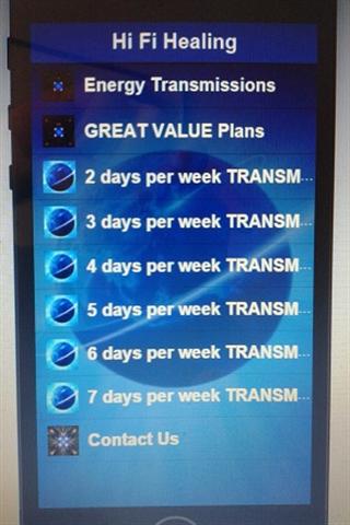 【免費健康App】HEALING ENERGY TRANSMISSIONS-APP點子