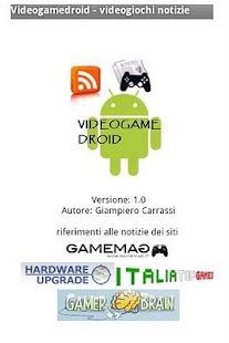 Videogamedroid news- screenshot thumbnail