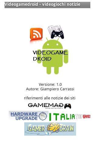 Videogamedroid news- screenshot