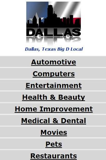 Dallas Texas Big D Guide
