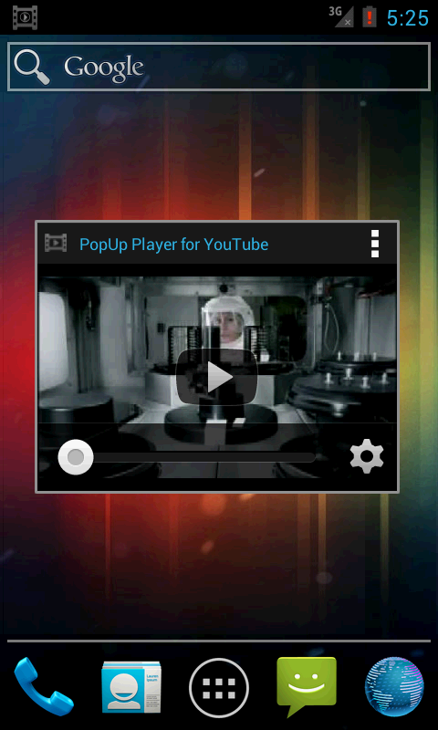 PopUp Player for Youtube - screenshot
