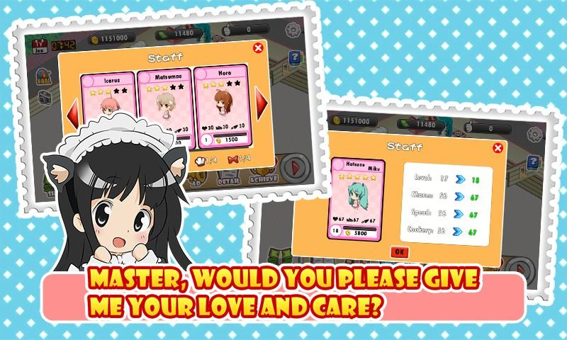 Moe Girl Cafe- screenshot