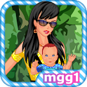 Mommy and Baby Dress Up icon