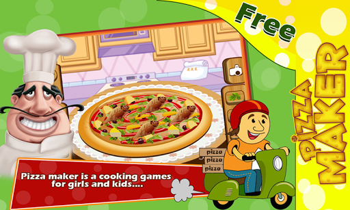 Virtual Pizza Maker Game