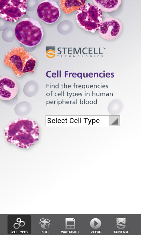 Cell Frequencies - screenshot