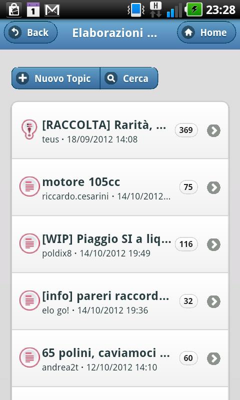 CiaoCrossClub- screenshot