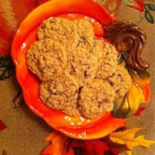 Cranberry Orange Oatmeal Cookies.
