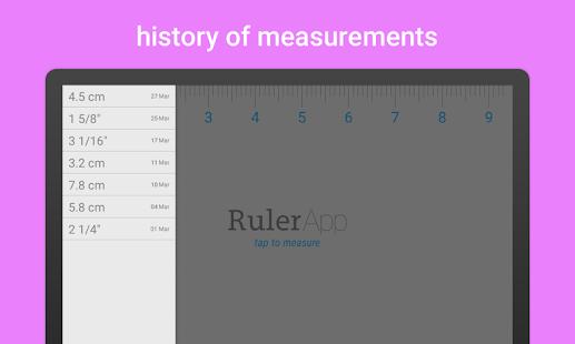 Ruler App - screenshot thumbnail
