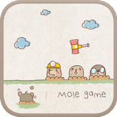 Mole game go launcher theme