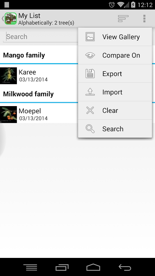 eTrees of Southern Africa Lite- screenshot