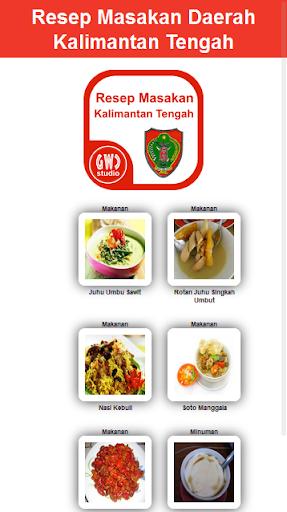 Resep Masakan Daerah Kal-Teng
