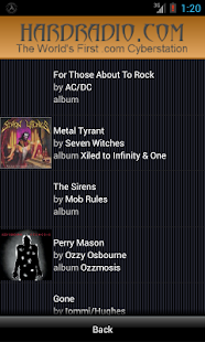 Hard Radio Rock Heavy Metal - screenshot thumbnail