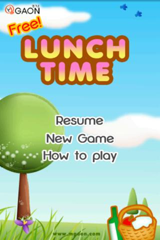 LunchTimeFree - screenshot