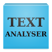 Text Analyser (letter counter)