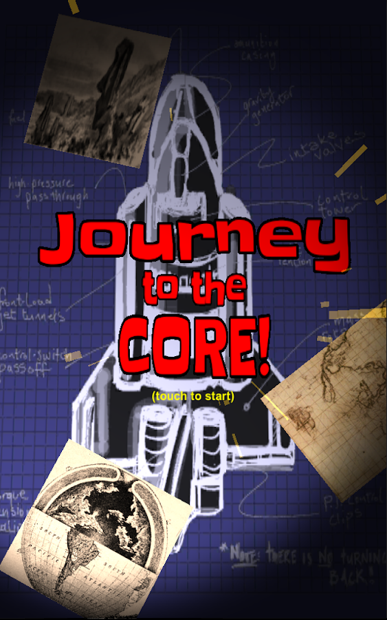 Journey to the Core!- screenshot