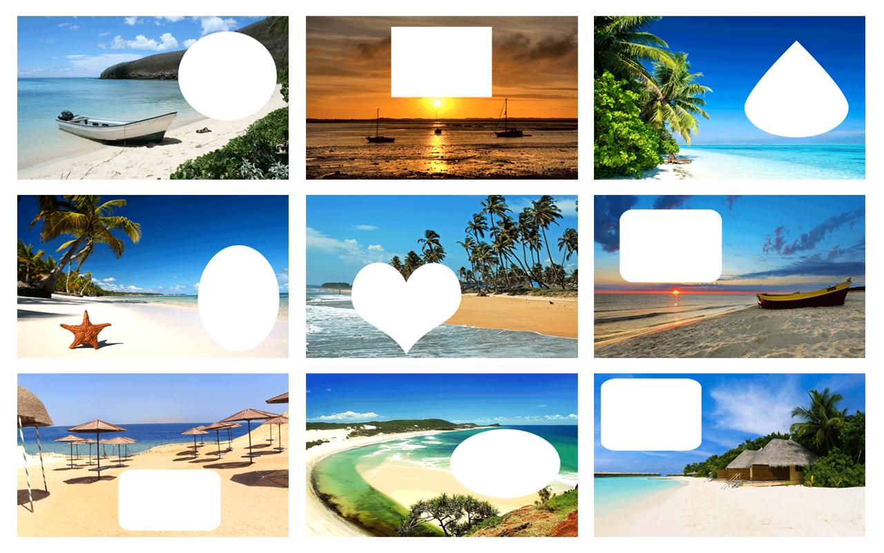 beach frames screenshots