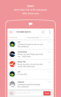 Mixlr - Social Live Audio- screenshot thumbnail