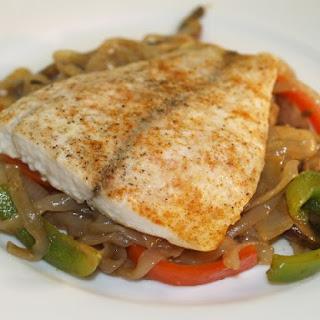 Five-Spice Barramundi With Hoisin Shirataki Noodles