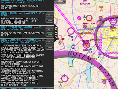 PocketFMS EasyVFR for Pilots - screenshot thumbnail