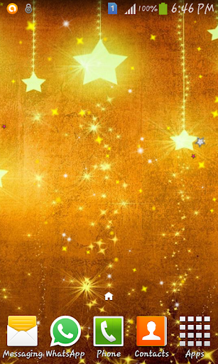 Magic star live wallpaper