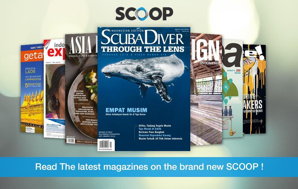 SCOOP Newsstand - screenshot