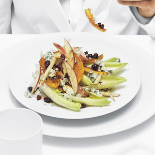 Roasted Butternut Squash and Apple Salad.