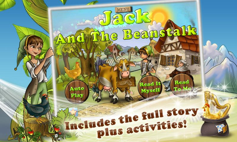 Jack & the Beanstalk Kids Book - screenshot