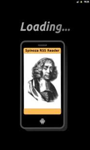 Spinoza RSS Reader- screenshot thumbnail