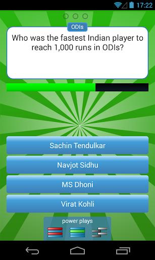 Cricket Quiz Challenge