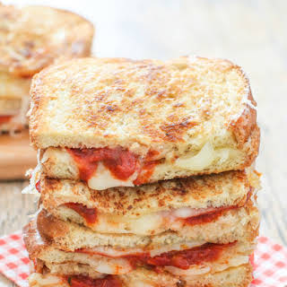 Pizza Grilled Cheese Sandwich.