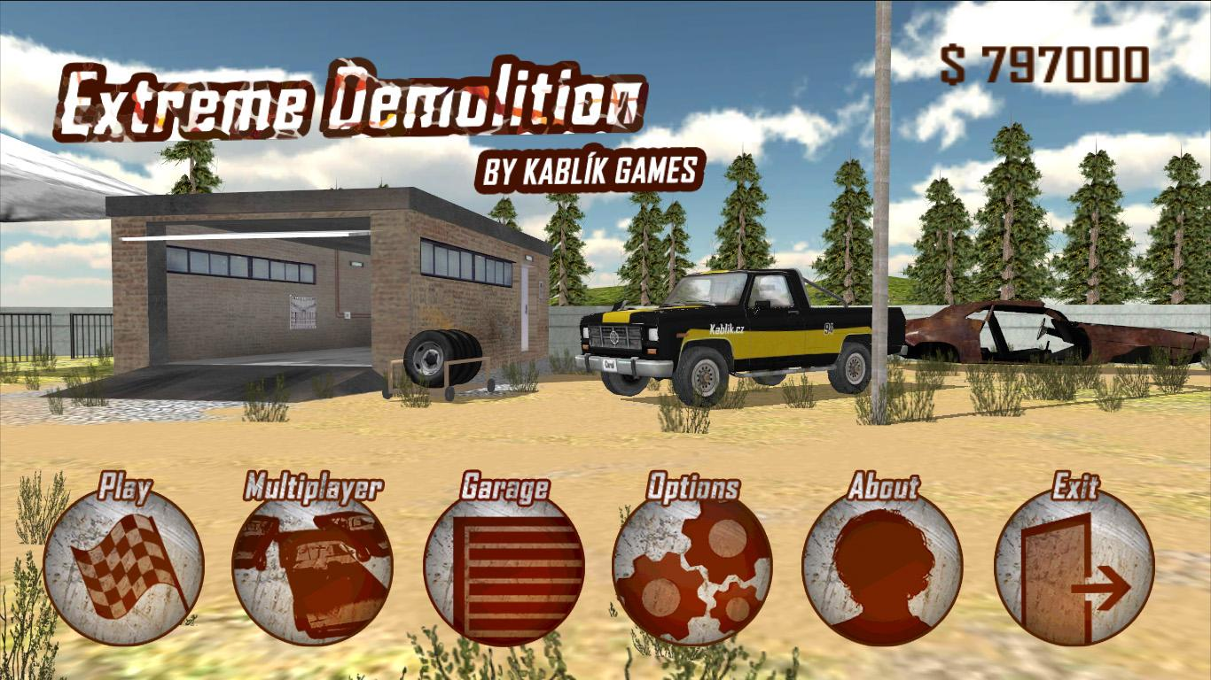 Extreme Demolition - screenshot