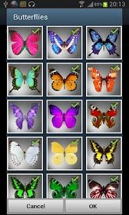 Butterflies PRO Live wallpaper screenshot