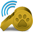 Dog Whistle mobile app icon