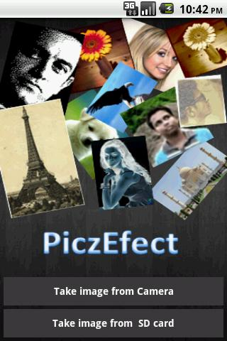 Pic Effects - screenshot
