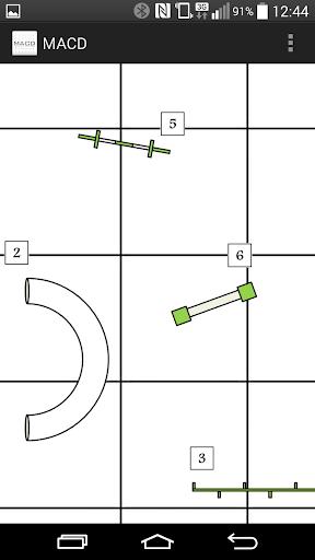 Mobile Agility Course Designer