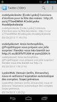Screenshot of Code Lyoko Mobile App
