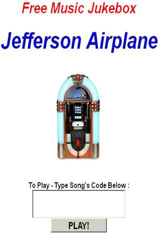 Jefferson Airplane JukeBox - screenshot