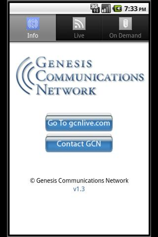 GCNLive - screenshot