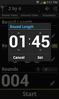 Screenshot of Get Fight Fit Timer Demo