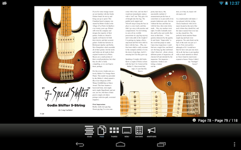 Bass Gear Magazine- screenshot thumbnail