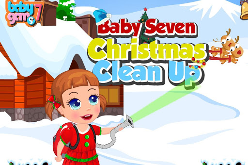 Baby Christmas Clean Up