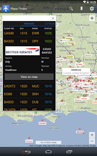 Plane Finder - Flight Tracker- screenshot thumbnail